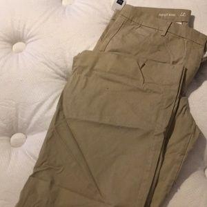 Tan bootcut pants